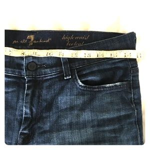 7 for all mankind high waist Bootcut jeans size 30